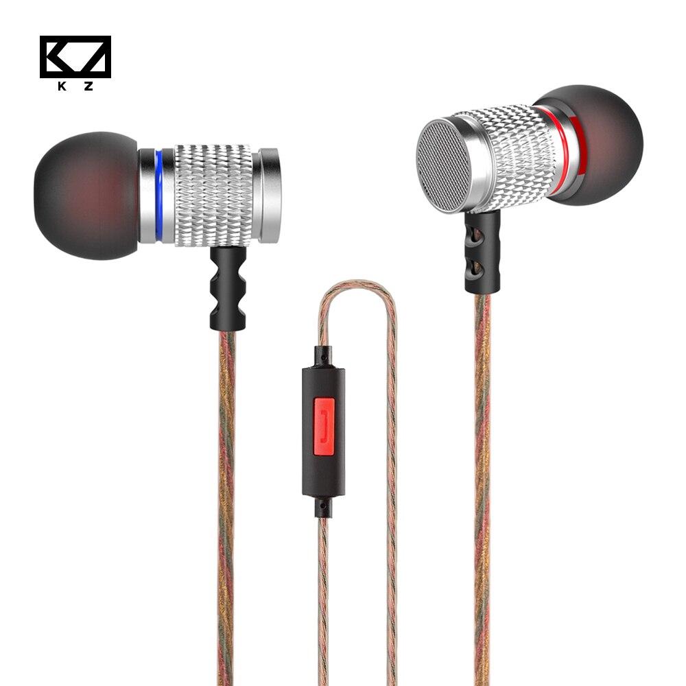 100% originale KZ EDR2 In Ear Auricolari Musica Metal Wired Hifi Bass Auricolare  Con Microfono portatile per il telefono mobile pc mp3 4aab650b6764