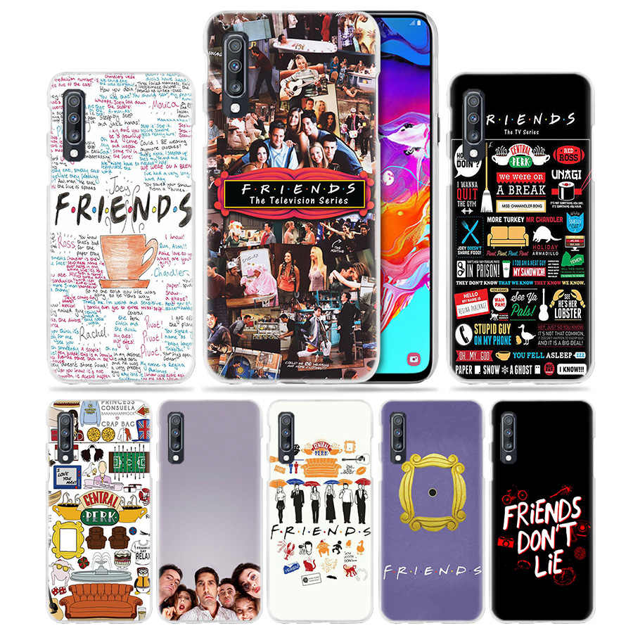 Best Friends Together Case for Samsung Galaxy A50 A70 A20e A40 A30 A20 A10 A8 A6 Plus A9 A7 2018 Hard Clear PC Phone Coque Cover