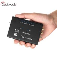 Mini AK4490 XMOS USB Audio Decoder DAC HIFI Kopfhörer Verstärker SPDIF DSD256 5 V Desktop Verstärker