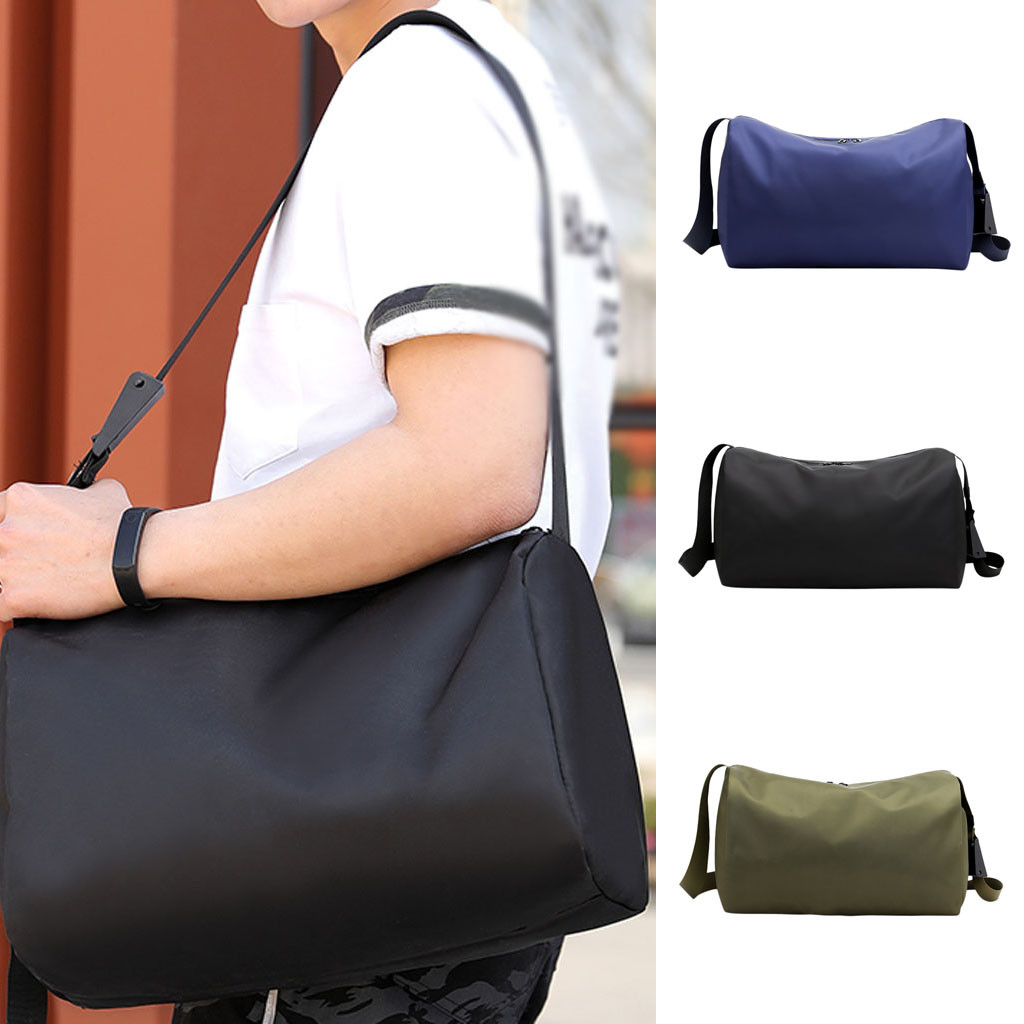 Large-Capacity Outdoor Travel Bag Messenger Bag Lightweight Folding Yoga Bag Fitness Bag