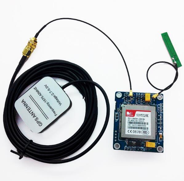 SIM5320E 3G Module GSM GPRS GPS Modules for Arduino 51 STM32 AVR MCU FZ1629   Power SuppliesSIM5320E 3G Module GSM GPRS GPS Modules for Arduino 51 STM32 AVR MCU FZ1629   Power Supplies