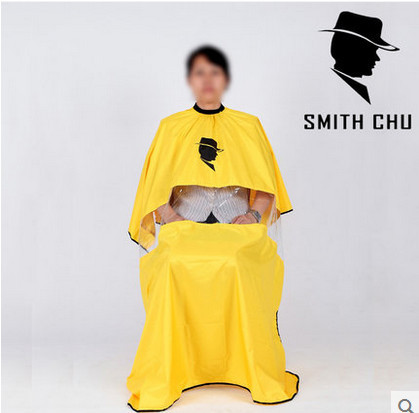 SMITH CHU Adult  Salon Hairdressing Hairdresser Hair Cutting Gown Barber Cape Cloth Barbers Waterproof Capes Viewing Window