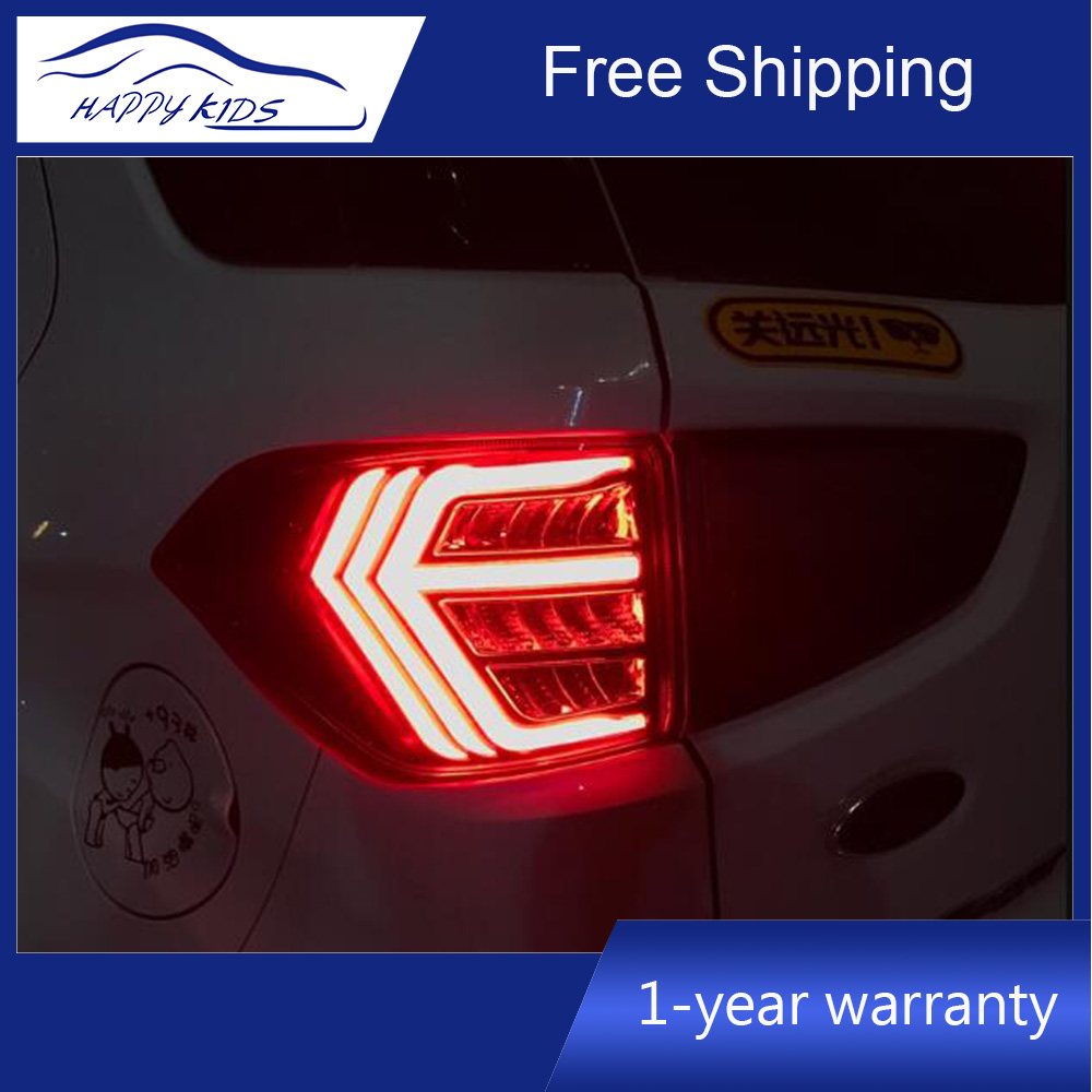For Ford Ecosport 2014 2015 2016 2017 2018 LED Taillight Rear Brake Tail Light stop light