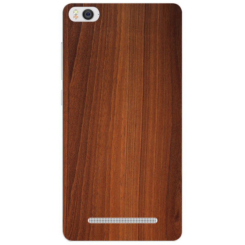 Xiaomi mi 4C 4i X9 protective case mi4i cartoon painting 5.0 inch back cover Bamboo style wood Painted relief - ShenZhen MRB store