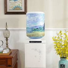 Gedruckt Cartoon Tier Tuch Kunst Trinkbrunnen Barrel Wasser Dispenser Staub Abdeckung Haushalts Waren Protector AC021