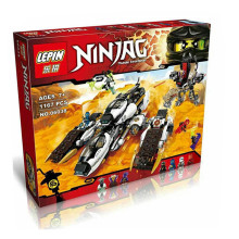 Lepin 06038 Compatible Legoe Ninjagoes Minifigures Ultra Stealth Raider 70595 Building Bricks Ninja Figure Toys For Children 134