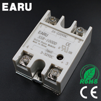 1 Pcs Solid State Relay SSR 100DD 100A 3 32V DC Input TO 24 220V DC