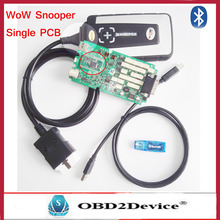 2016 Newest Bluetooth WoW Snooper CDP Single PCB With Update To V5.008 R2 software Diagnostic TCS CDP Better Than TCS CDP