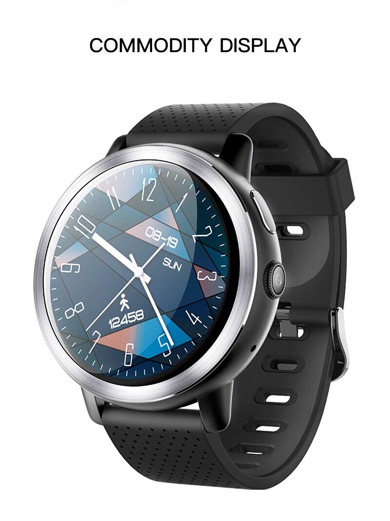 LEMFO LEM8 4G Smart Watch Android 7.1.1 GPS Smartwatch Men 2GB 16GB 580Mah Battery 1.39 Inch AMOLED Screen Sport Watch 20