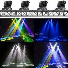 Акции 4 шт./лот Лучшие Продажи 30 Вт Spot LED RGB DJ Мини СВЕТОДИОДНЫЙ Прожектор/Гобо Moving Головной Свет Этапа