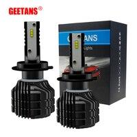 GEETANS H7 LED 12V Car Headlight Bulb 52W 9000LM Set 2PCS H1 HB3 9005 9006 HB4