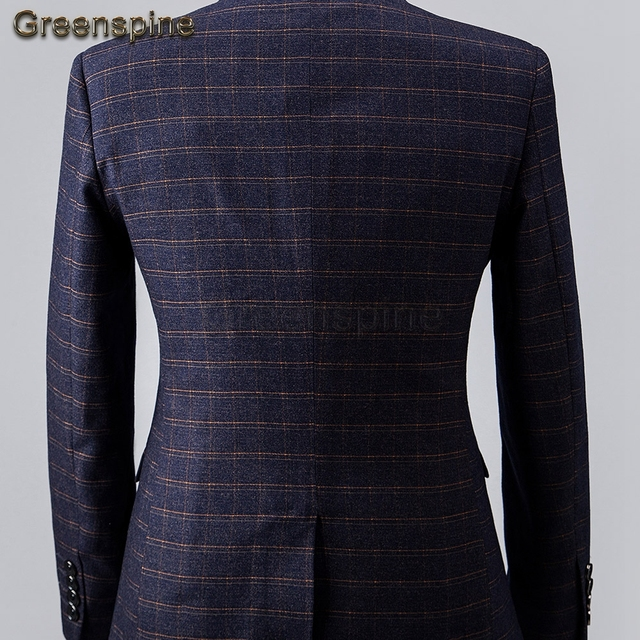 Men's Suit 2 Pieces Suit Jacket, Men Suit Pants Blazer For Wedding Business Formal Clothes Tailor Made Autumn Winter ZM372