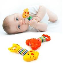 Детский зубопрорезыватель в виде краба, креветки, пустышка, мультфильм, Прорезыватель зубов, бесплатные детские игрушки с зубами, подарок для младенцев, жевательные игрушки для детей 0-12 месяцев