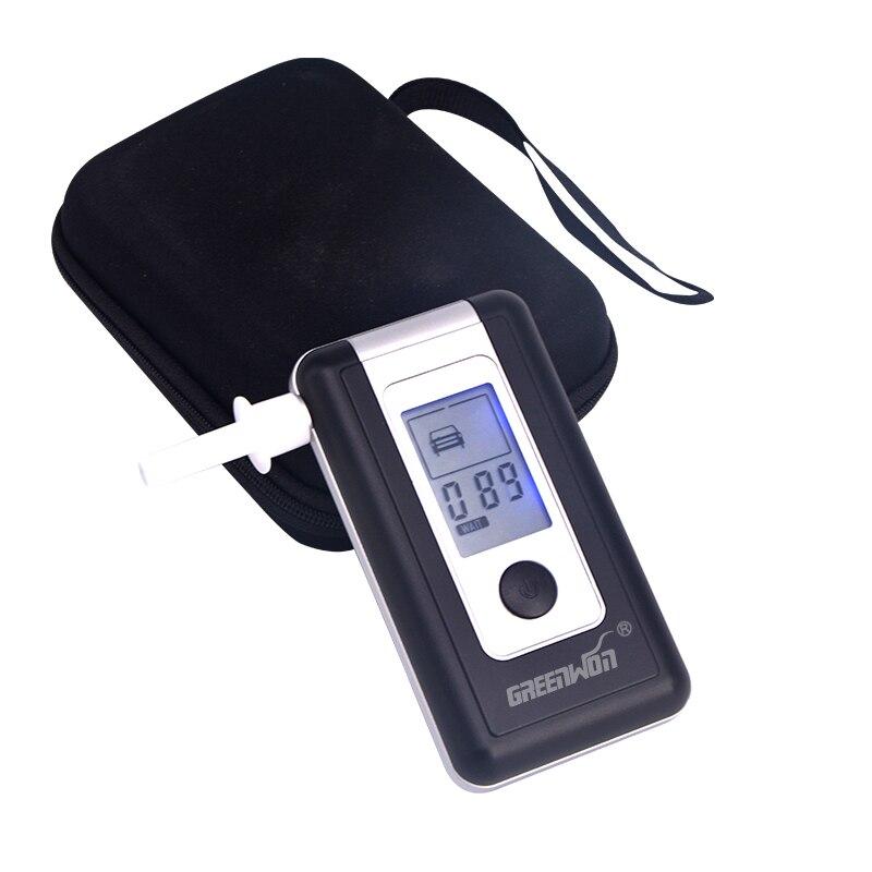Alcootest personnel et familial GREENWON HUALIXIN testeur d'alcoolémie à affichage LCD alcootest numérique