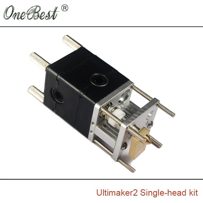 3D Printer Ultimaker 2 Printhead Single Head Kit Hot Extrusion Head End Kit 3D Printer Printhead