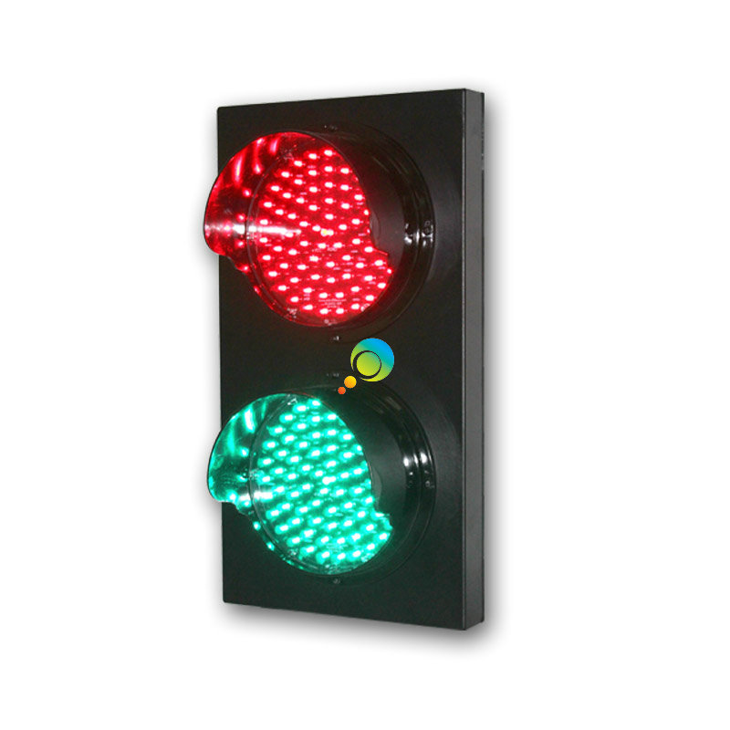 AC85 220V 200mm /8 Inch Red Green Full Ball Parking Lots