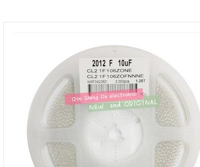 100% מקורי 0805 10 UF 106 K 10% 25 V CL21B106KAFNNNE 1.25 T קרמיקה SMD x 2000 יחידות 0805
