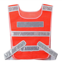10pcs/lot Reflective Safety Warning Vest Working Clothes Reflectante Chaleco Day Night Protective Vest For CyclingTraffic YFZ006