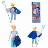 30cm Toy Story 4Talking Bo Peep Buzz Lightyear Action Toy Figures in Stock Model Collectible Doll Toys Children Birthday Gift