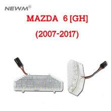 2 шт. 18LED номерной знак свет лампы для Mazda 6 MAZDA6 2006-2011 RX-8 04-12