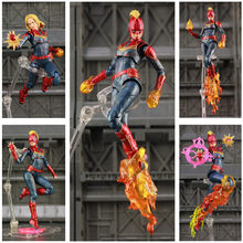 "New In Box 4 Marvel Avengers Capitão Marvel 6 Endgame ""Action Figure KO S.H. Figuarts SHF Carol Danvers Lendas Boneca Brinquedos(China)"
