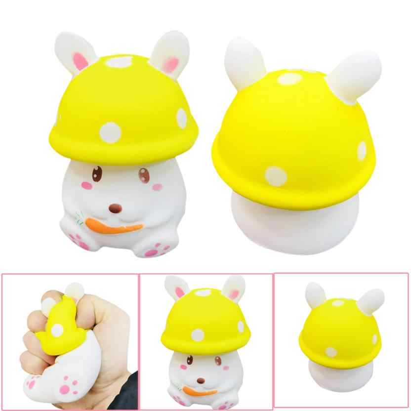 Rabbit Slow Rising Squishy Charms Milk Bag Toy Slow Rising for Children Adults Relieves Stress Anxiety Cabinet Decor t312
