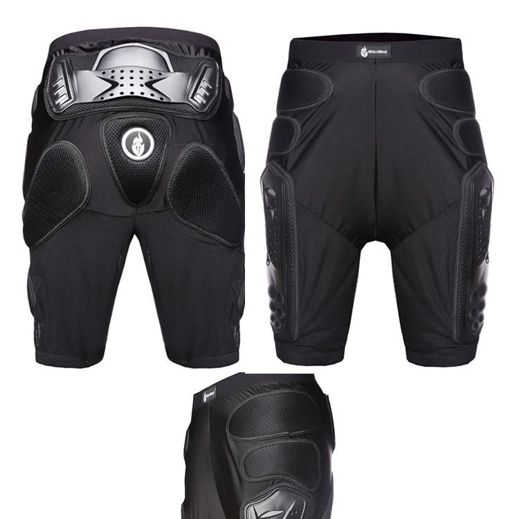 Motocross Racing Motorcycle Skiing Armor Pads Hips Legs Protector Shorts Pants