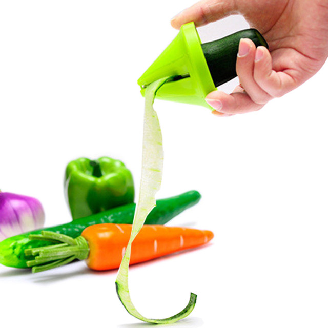 Kitchen Funnel Spiral Vegetable Fruit Cutter