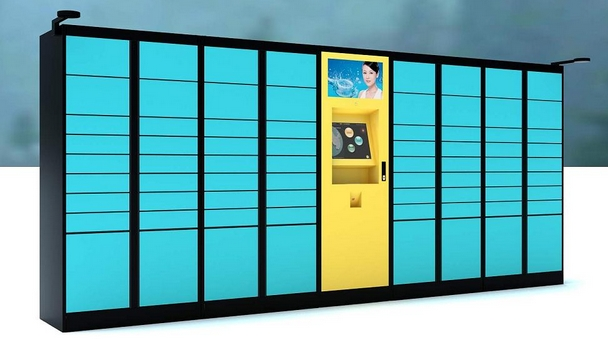 Barcodes Scanner Card Reader Fingprint Facial Recognition WiFi Remote Post Parcels Storage Cabinets Lockers Safes