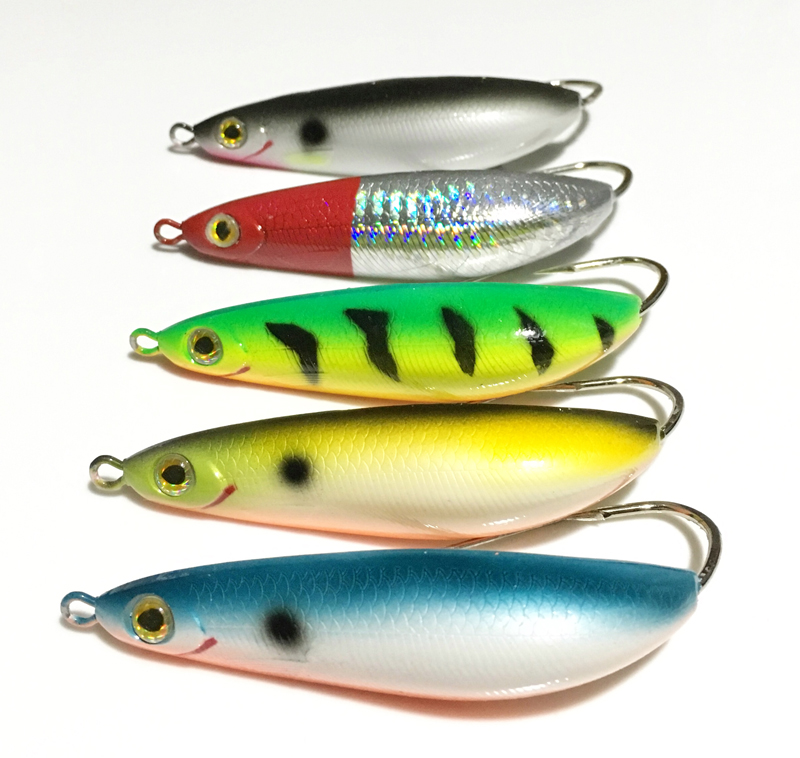5 Pieces Rattling Minnow Spoon Fishing Lure 8.5cm 20g Freshwater Saltwater Weedless Crankbait Snapper Winter Ice Fish Bait|Fishing Lures|Sports & Entertainment - AliExpress