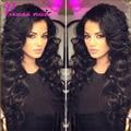 7A en Bruto Malaysian Virgin Hair Body Wave 3 Bundles Vírgenes Paquetes de Pelo Malasio Virginal Del Pelo Onda Del Cuerpo Malasio Sin Igual