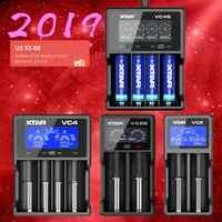 Новый XTAR VC2 VC2S VC4 VC4S красочные VA ЖК-дисплей Экран с эффектом приближения c зарядкой Micro-USB Питание Портативный относится к 3,6 V/3,7 V литий-ионный Т...