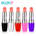 IKOKY Hot Mini secret Women Lipstick Vibrator Electric Vibrating Jump Egg Waterproof Bullet Massage Sex Toy Women Adult Product