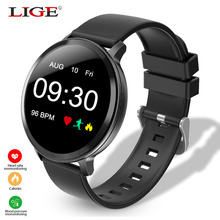Smart Watch Men Waterproof Smartwatch With Heart Rate Monitor Blood Pressure Fitness Bracelet For iPhone iOS Android Watches цена и фото