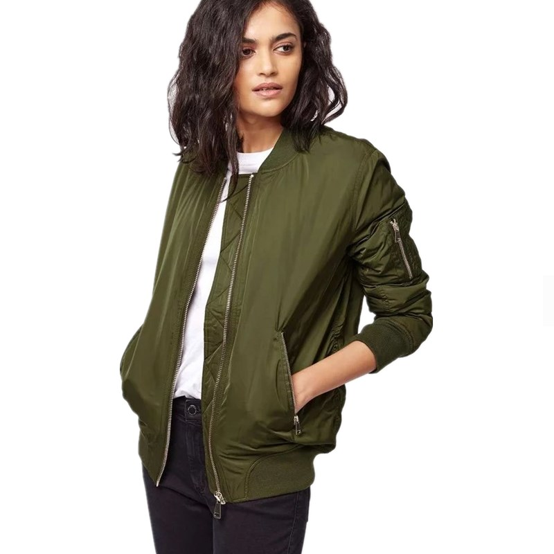 Popular Green Bomber Jacket-Buy Cheap Green Bomber Jacket lots ...