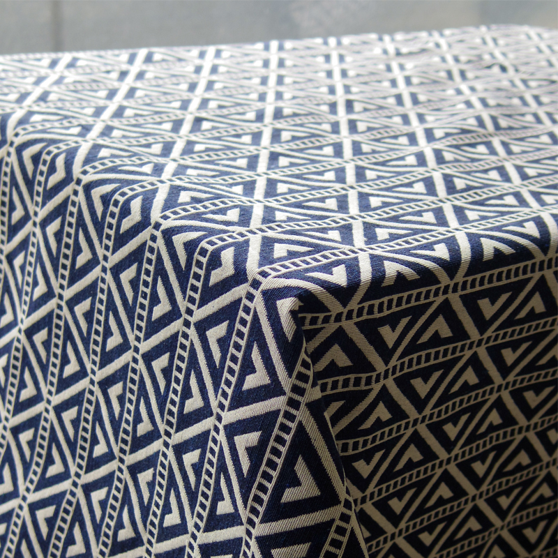 High Quality ... Home Decor Customized American Indian Style Geometric Navy White Tablecloth  Table Cloth Toalha De Mesa Nappe ...
