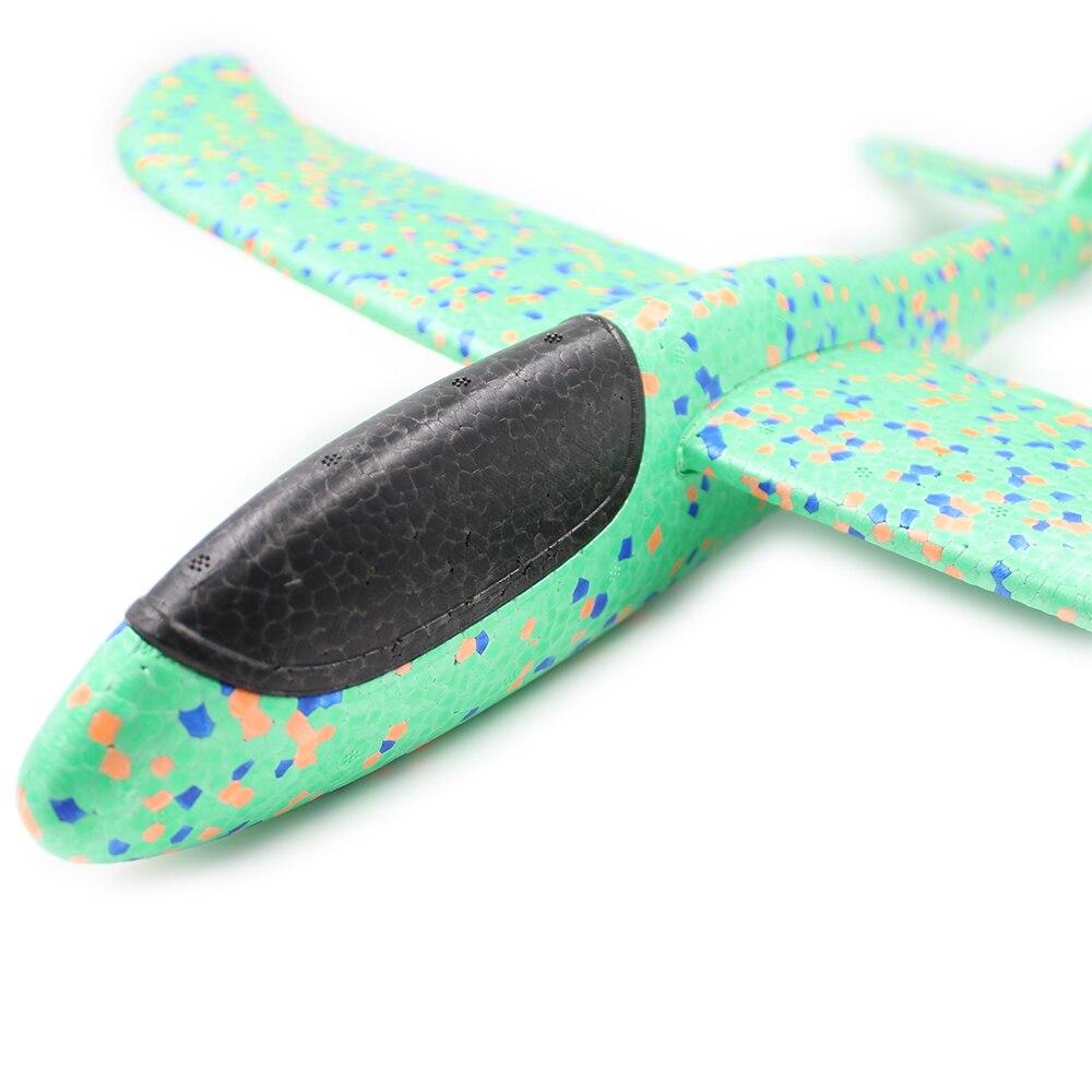 48CM mousse avion planeur main jeter avion planeur jouet avions EPP lancement en plein air enfants jouets pour enfants garçons cadeau 4