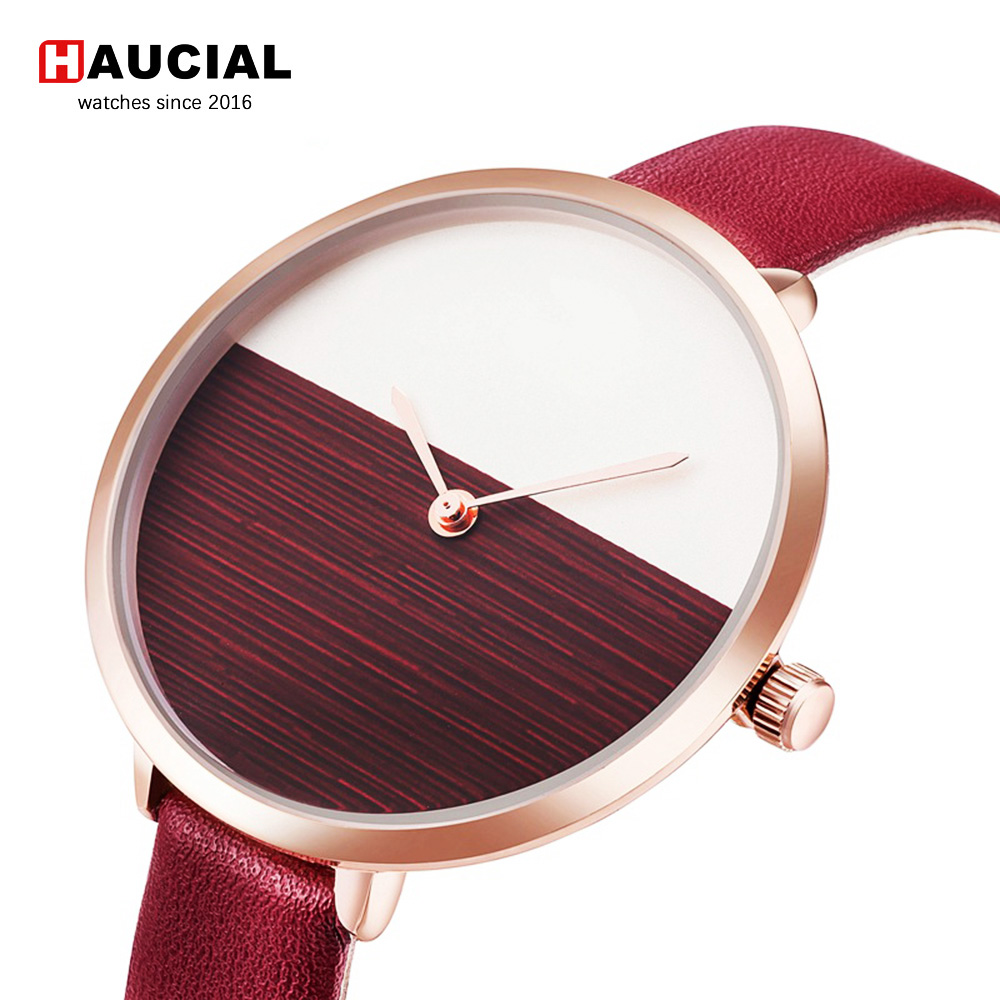 Fashion Women Watch Simple Brand Luxury Quartz Watches Women Leather Strap Thin Wristwatches Casual Clock Reloj Mujer Girls longbo luxury brand fashion quartz watch blue leather strap women wrist watches famous female hodinky clock reloj mujer gift