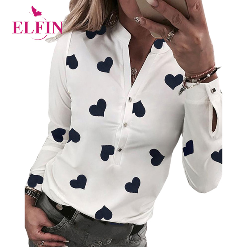 White Womens Tops And   Blouses   Summer Long Sleeve   Shirt   Blusas Woman 2019 Elegant Ladies Tops Harajuku SJ3305R