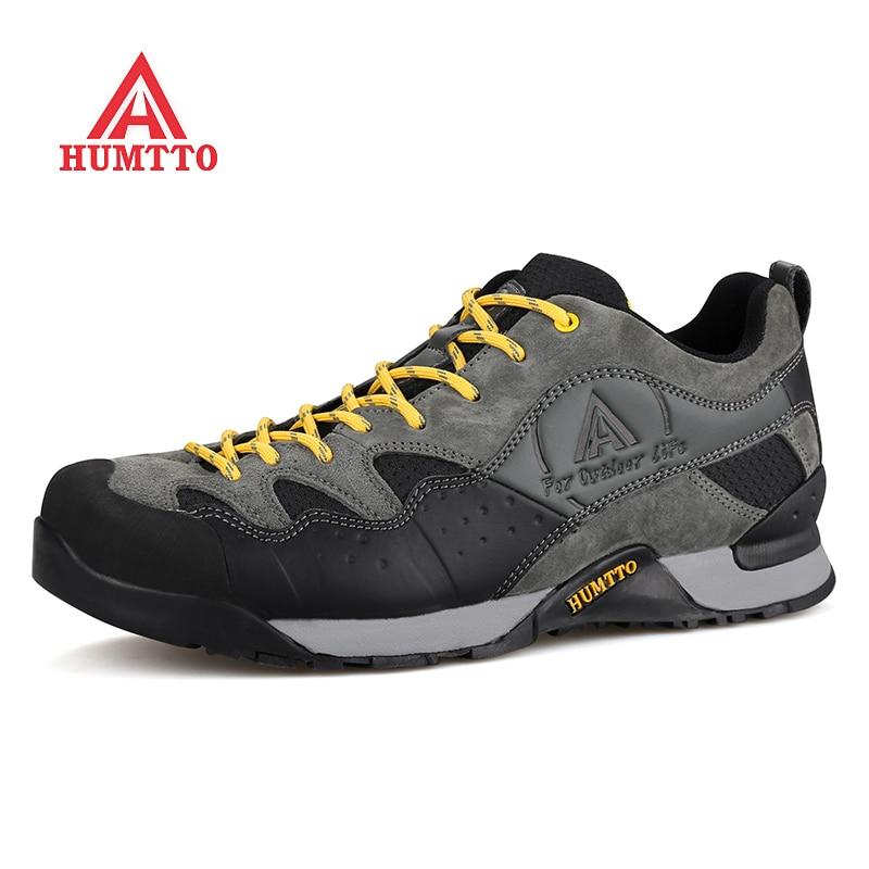 Humtto Треккинговые ботинки человек бренд восхождение на горы поход спортивная обувь для Для мужчин кемпинг Пояса из натуральной кожи Для Муж...