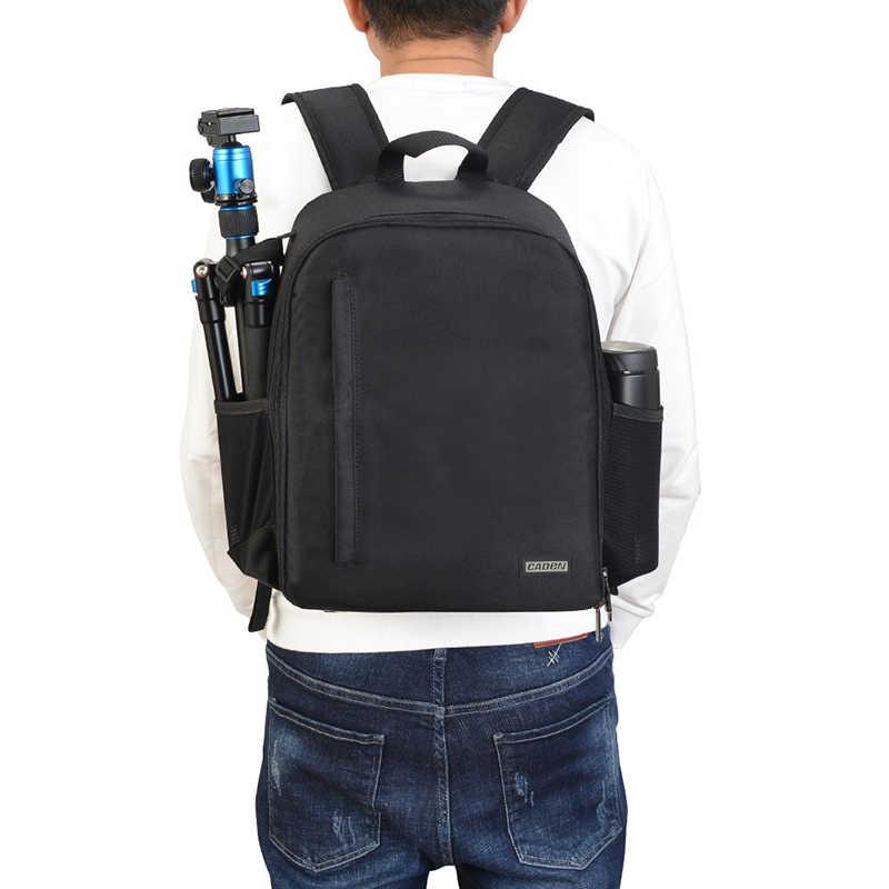 صدمات في الهواء الطلق حقيبة الكاميرا حقيبة كمبيوتر محمول مقاومة للماء سعة كبيرة SLR حقيبة الظهر لكانون نيكون سوني a6000 a7 iii m50