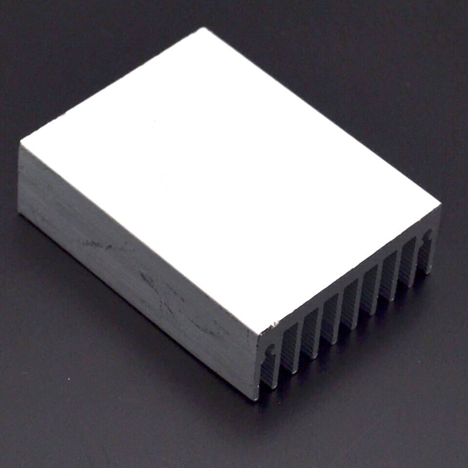 Image 3 - 1pcs Heat sink 60 * 45 * 18MM (silver) high quality radiator-in Fans & Cooling from Computer & Office
