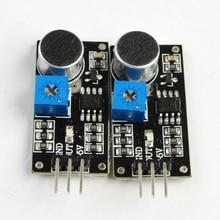 2Pcs Voice Sound Detection Sensor Module for Arduino