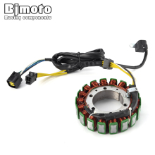 BJMOTO 32101-32E00-000 Motocross Magneto Stator Ignition Coil Generator For Suzuki DR650 1996-2016 XF650 Freewind 1997-2001