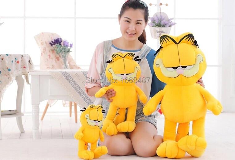 Muñeco de felpa de Garfield peluche felpa juguete de peluche de alta - Peluches y felpa