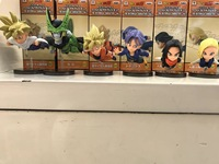 6 Teile/sets Anime Dragon Ball z goku zelle badehose Android 18 action figure pvc classic collection spielzeug modell dekoration 9 cm