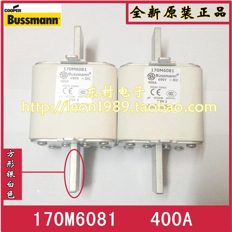 New original Bussmann fuse 170M6081 400A 690V 170M6082 170M6087 new original stk412 170 c