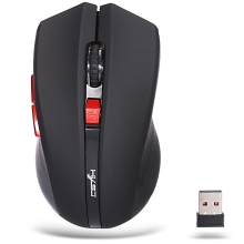 HXSJ X50 Wireless Mouse 2400DPI ABS 2.4GHz Wireless 6 Buttons Optical Gaming Mouse with USB Receiver for Laptop Desktop