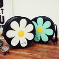 2017 Lindo Sun Flower Hombro Dulce Bolsa de Mensajero Bolso de Totalizador de La Taleguilla Del Monedero de la Alta Calidad Envío Libre P180