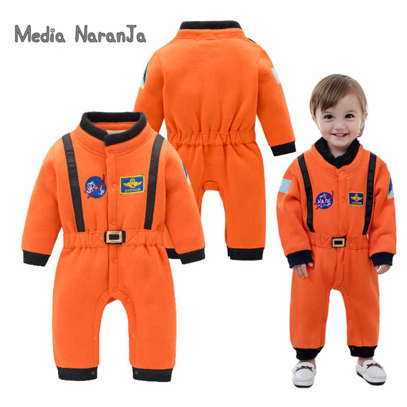 Baby Boys  Astronaut Costumes Infant Halloween Costume for Toddler Boys Kids Space Suit Jumpsuit infantil fantasia